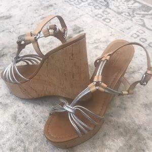 Coach Georgiana wedge sandals
